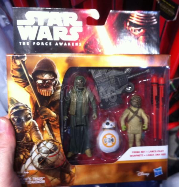 2 figurines Star Wars le Réveil de La Force