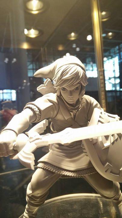 la statuette de LINK Skyward Sword ver.