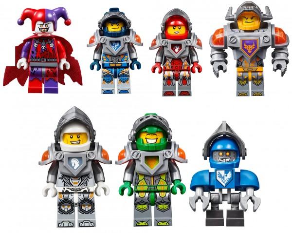 Lego-Nexo-Knight-Minifigures