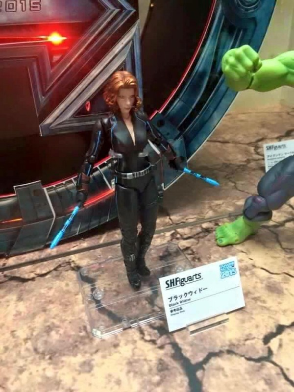 S.H.Figuarts Avengers Series Black Widow