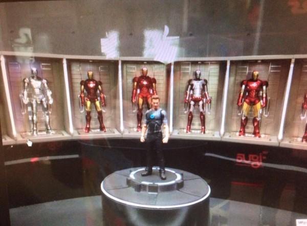 S.H.Figuarts Ironman Series Tony Stark  Ironman Series Hall of Armor