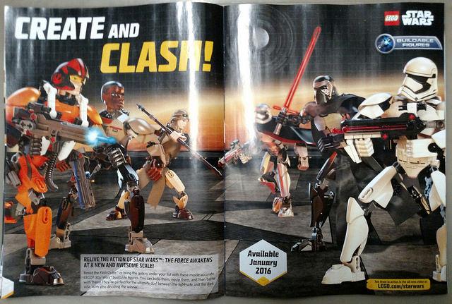 star wars images officielles de figurines lego