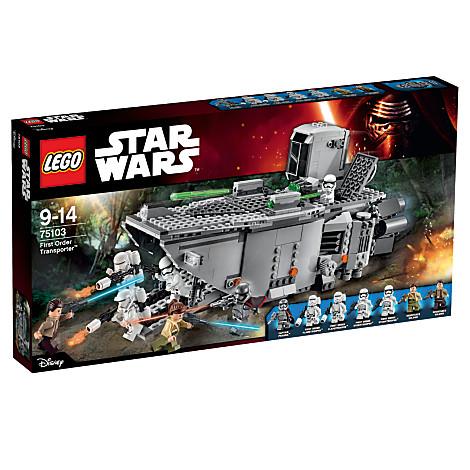 LEGO STAR WARS 75103 Transport Premier Ordre à moins 25% - Voir ICI