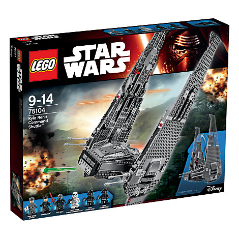 LEGO STAR WARS Navette de Commandement de Kylo Ren PAS CHER 24% de reduction