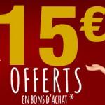 Bon Plan Jouets de Noël  15€ offert sur Carrefour Online