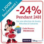 24% de réduction sur plus de 600 jouets DisneyStore.fr