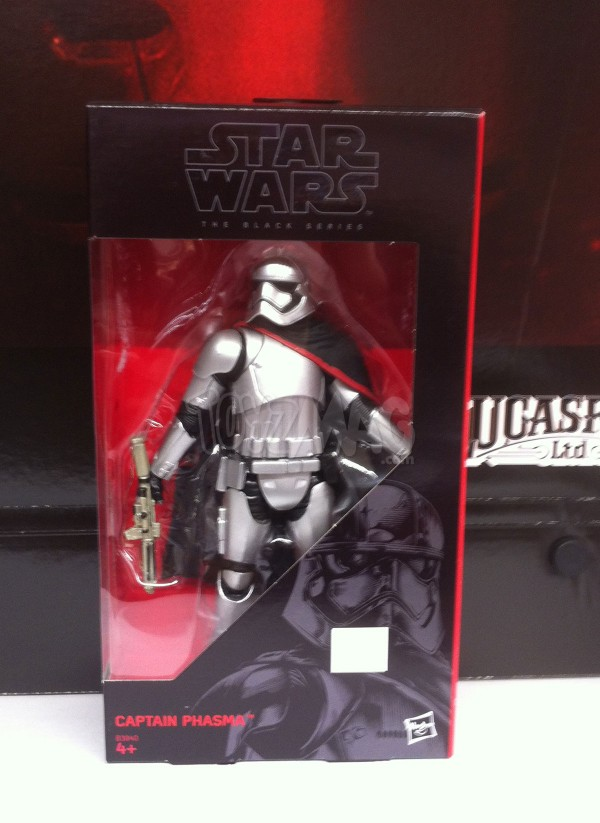 Star Wars The Black Series - Le Réveil de la Force CAptain Phasma