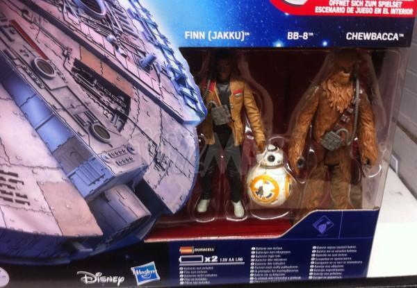 Faucon Millenium Jouet Star Wars reveil de la Force