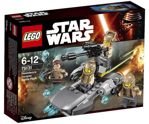 LEGO STAR WARS 75131 Resistance Battle Pack
