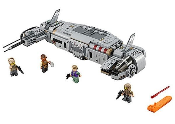 LEGO STAR WARS 75140 resistance troop transport
