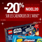 20% de réduction sur les Calendriers de l'Avent avec Carrefour Online
