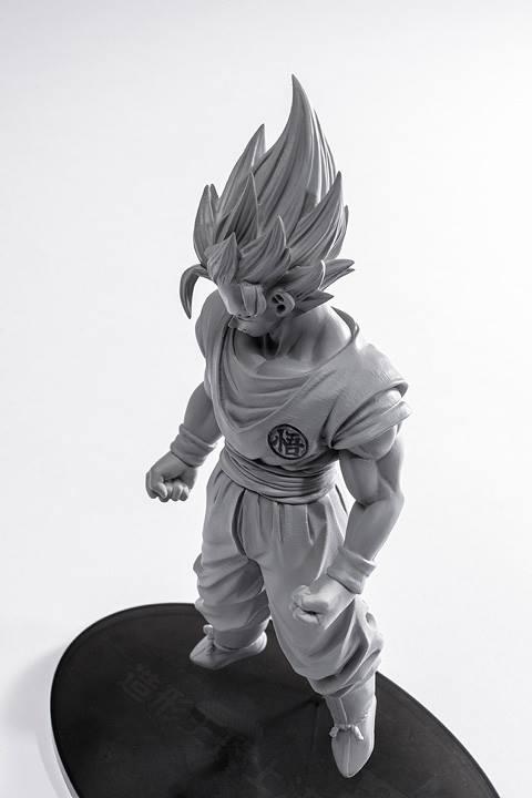 Banpresto Figure Colosseum Tenkaichi - Dragon Ball Z - C-18, Son Goku SSJ -  Son Goku SSJ3