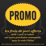 Bon plan : Les frais de Port offert sur CaptainFigurines.fr