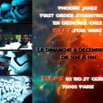 Agenda : Stormtrooper 1st Order en dédicace chez Pulp's Toys
