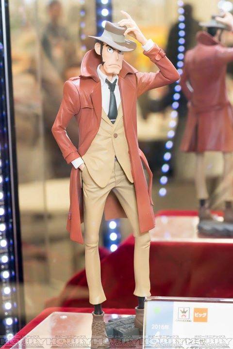 lupin3 figurine Banpresto Inspecteur Koichi Zenigata