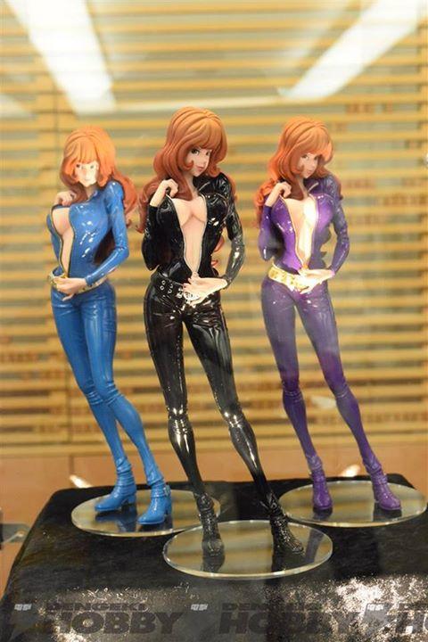 lupin3 figurine Banpresto fujiko mine