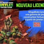 Mega Bloks Tortues Ninja c'est pour Janvier 2016