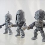 3 prototypes MOTU par The Loyal Subjects