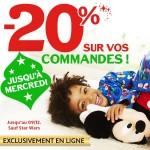 Bon plan : 20% de réduction sur le DisneyStore.fr