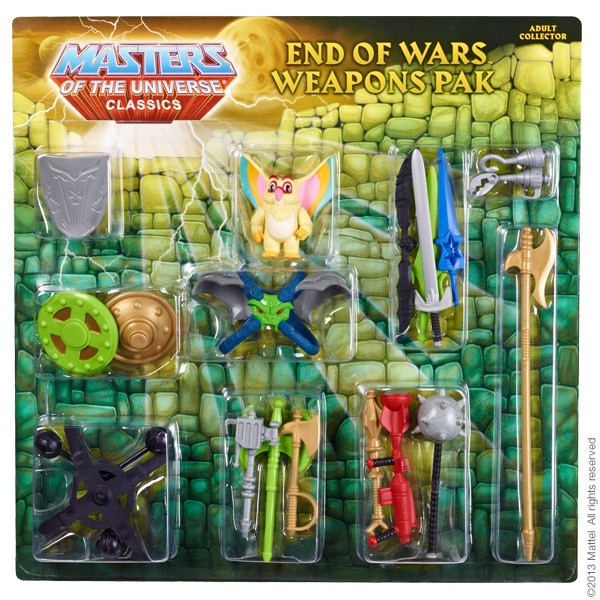 Masters of the Universe® Weapon Pak # 4 – End of Wars