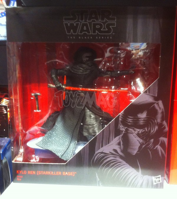 Black series Kylo Ren exclu starkiller