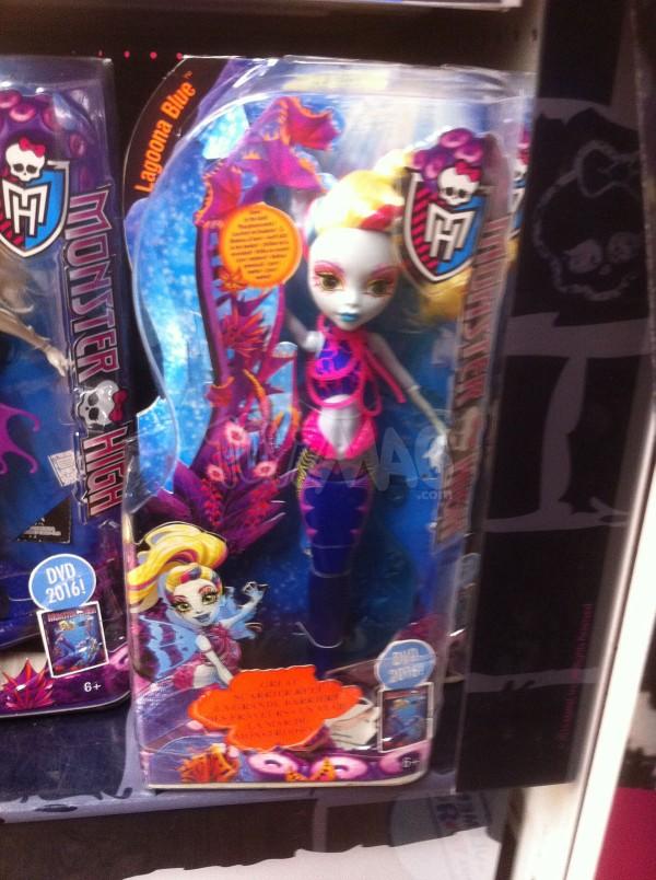 Monster High La Grande Barrière des frayeurs