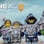 LEGO Nexo Knights, les chevaliers du futur arrivent bientôt en France