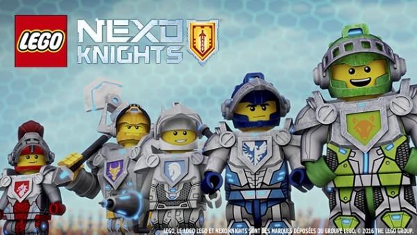LEGO® NEXO Knights™ : l'avant-première. Lego Nexo Knights. Ce vendredi 18 décembre 2015 à 17h35 sur Gulli