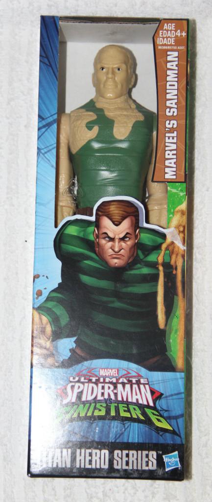 Sandman / homme sable   Titan Hero Series- Hasbro 2016