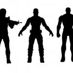 3 figurines Marvel Select pour Captain America Civil War