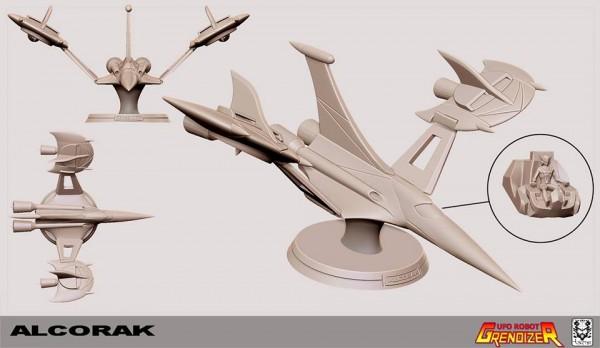 alkorakUFO Robot Grendizer Goldorak HQS+ By Tsume