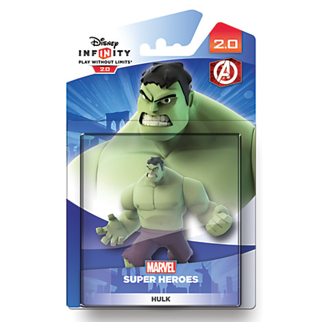 Figurine interactive Disney INFINITY 2.0, Hulk Prix :  6,40 €