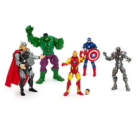 Ensemble de 5 figurines articulées Marvel Avengers Legends  Prix :  44,97 €