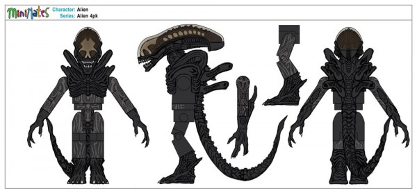 Alien Wave 2 Exclusive 4pk - Alien
