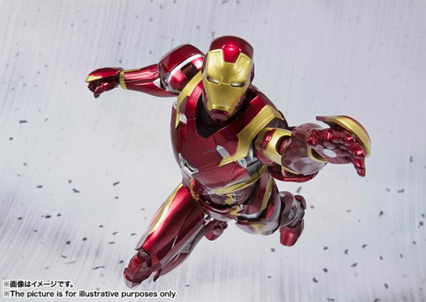 CAPTAIN AMERICA: Civil War SHFiguarts Ironman Mark 46