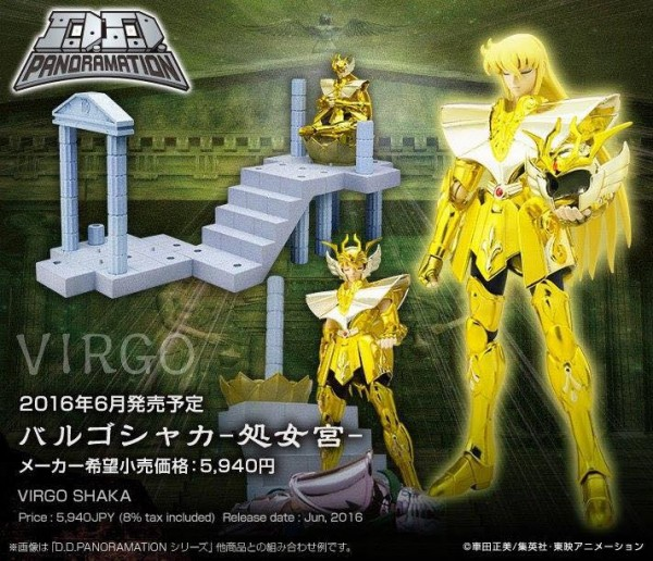 DDpanoramation saint seiya VIRGO SHAKA