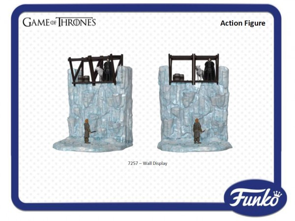 Game of Thrones, les figurines 10cm de Funko playset THE WALLGame of Thrones, les figurines 10cm de Funko playset THE WALL