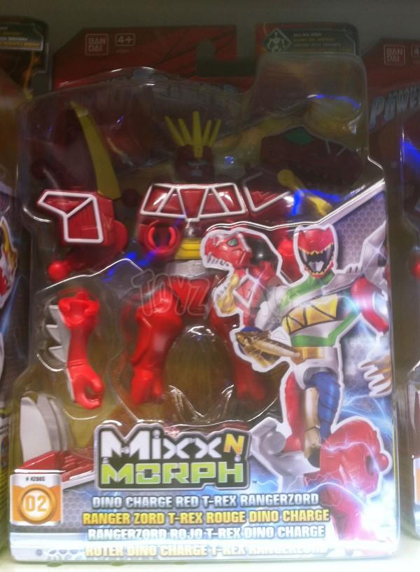 Power Ranger Dino Charge Mixx N Morph
