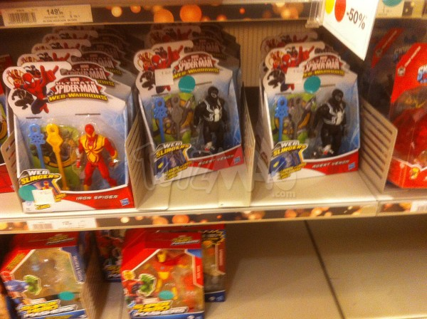 soldes figurines marvel