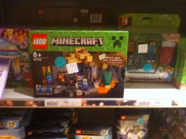 solde -30% sur Lego Mincraft