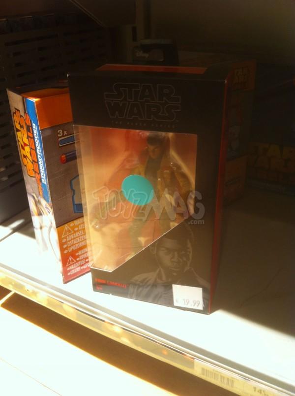 Soldes Star Wars Black series 6 FINN