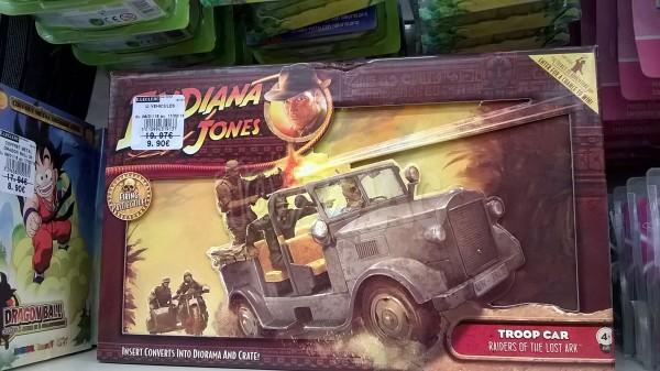 E.Leclerc vide ses stocks Indiana Jones, GIJoe et Wolverine  soldes