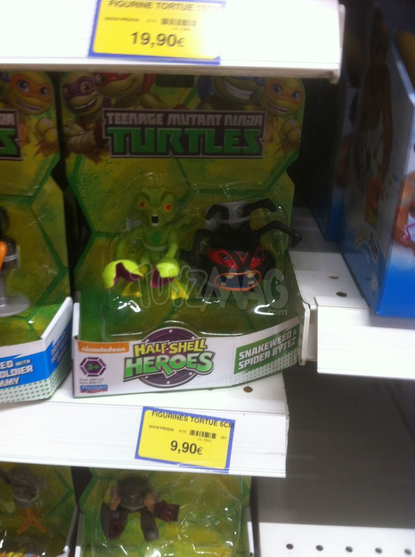 Tortues ninja HALF Shell
