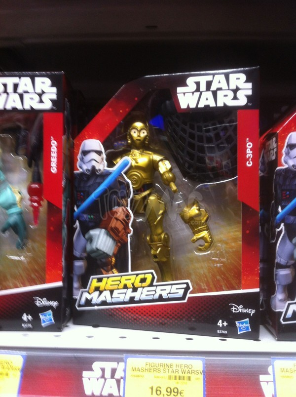 STAR WARS HERO MASHERS