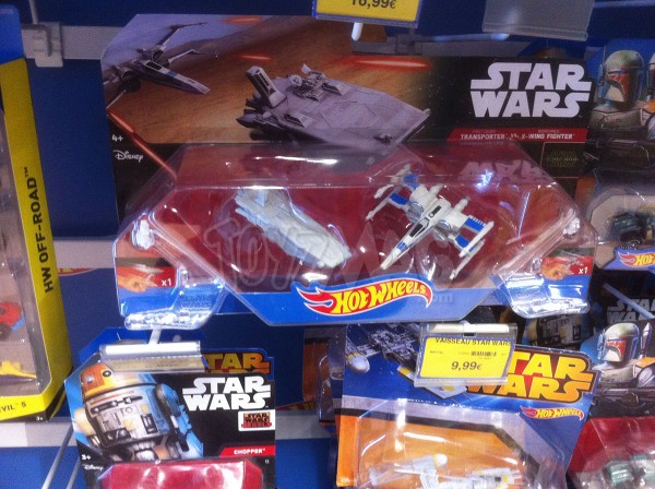 hot wheels star Wars 7