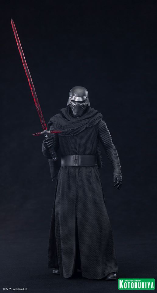 Star Wars The Force Awakens  Kylo Ren ARTFX+ Statue