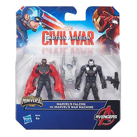 War Machine et Falcon, Captain America : Civil War