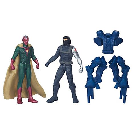 Vision et Le Soldat de l'hiver, Captain America : Civil War