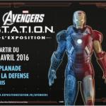 L'expo Marvel Avengers S.T.A.T.I.O.N c'est dans 2 mois