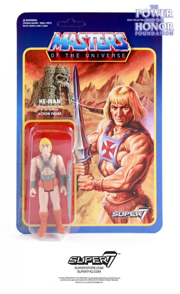 HeMan  ReAction MOTU
